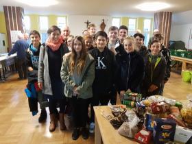 Ethik- Gruppe der 7. Klassen Realschule Penzberg November 2018