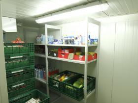 Tafel Kühlraum
